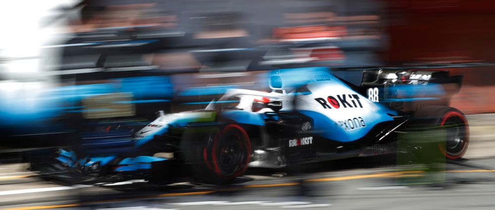 Kubica Had To Drive Cautiously In Practice Because Williams Doesn't Have Many Spare Parts