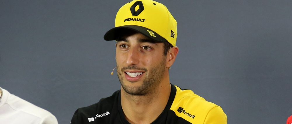 Ricciardo Pays Testament To Kubica's Long-Awaited Comeback