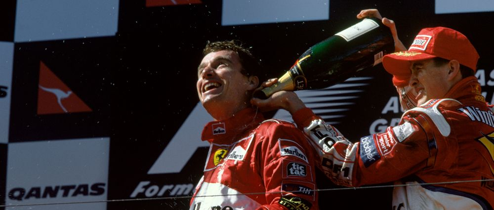 On This Day In F1 - Eddie Irvine Finally Won His First Race