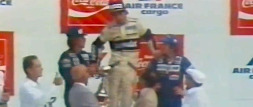 On This Day In F1 - Piquet Passed Out On The Podium