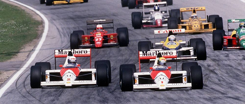 On This Day In F1 - Senna Angered Prost By Breaking A Pre-Race Agreement