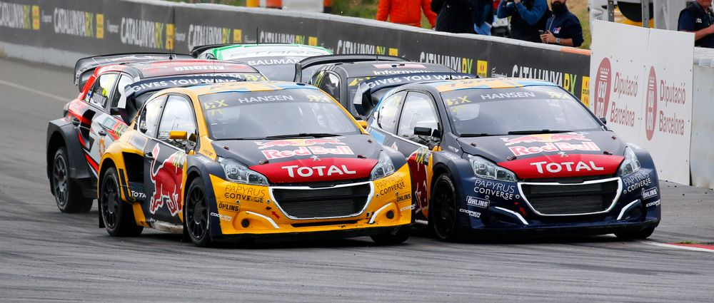 The Hansen Brothers Finished One-Two In The Barcelona Round Of World RX
