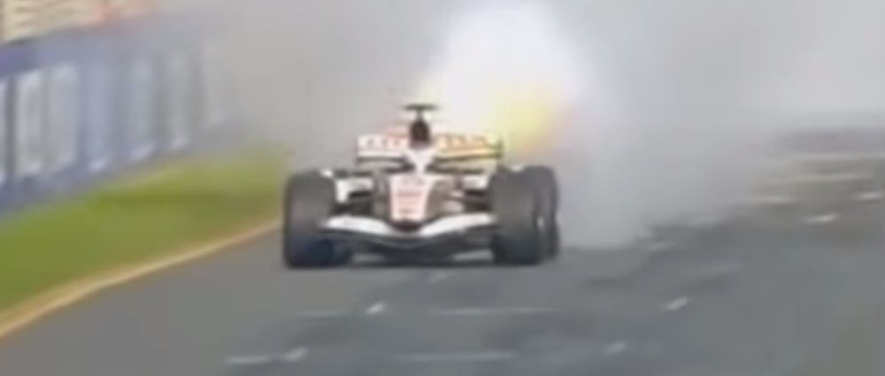 On This Day In F1 - Button's Engine Exploded In Sight Of The Finish