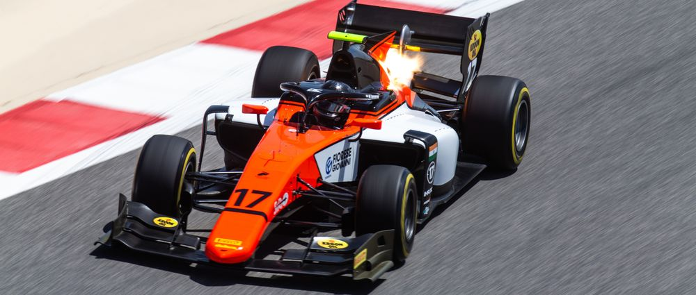 F2 Driver Raghunathan Was Given A Penalty In Bahrain For Doing Too Many Laps