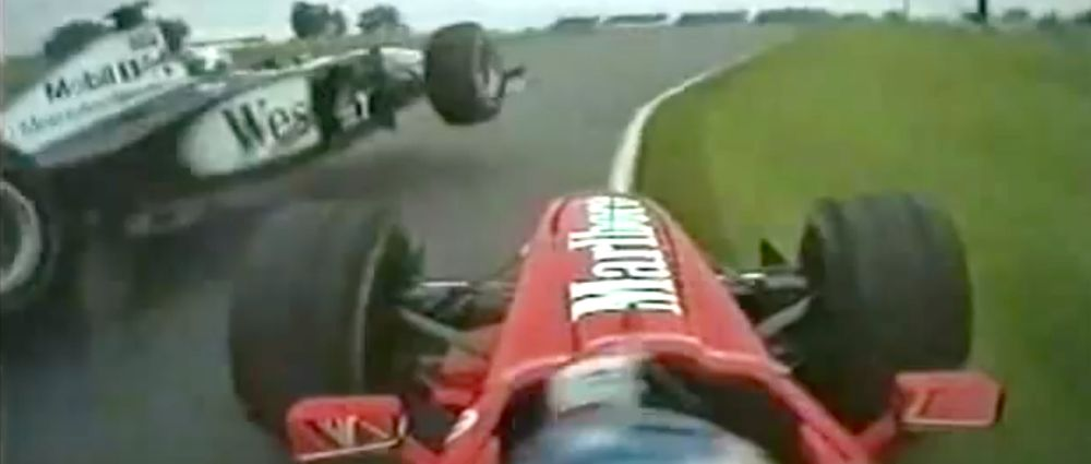 On This Day In F1 - Schumacher Punted Coulthard Out Of The Lead