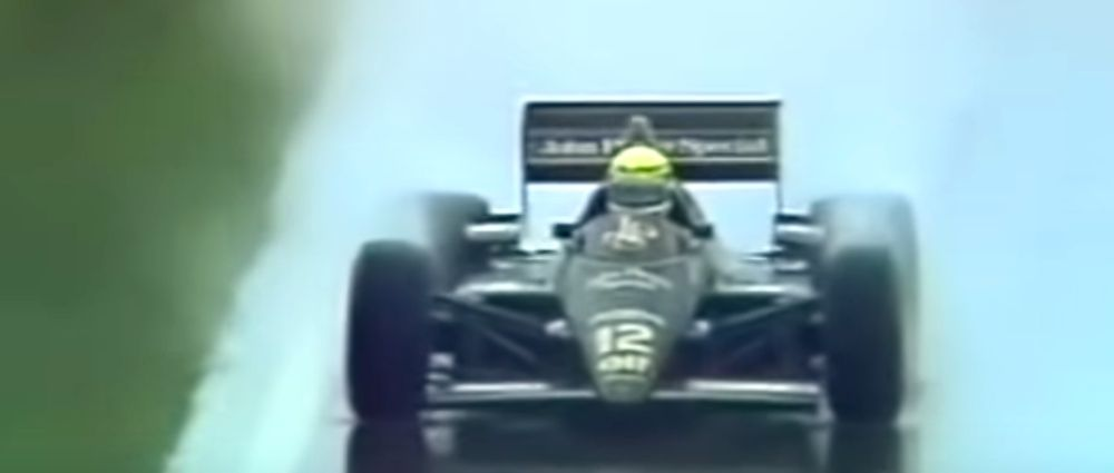 On This Day In F1 - Senna Took His First Win In Appalling Conditions