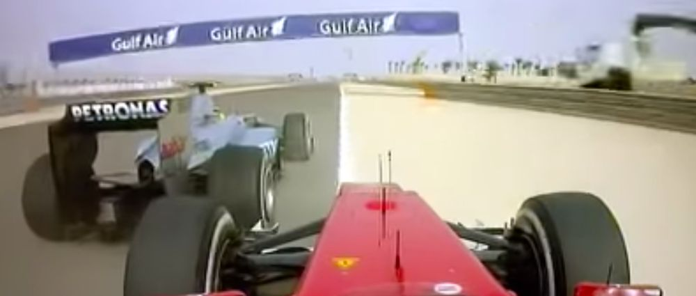On This Day In F1 - Rosberg Didn't Leave Alonso A Space