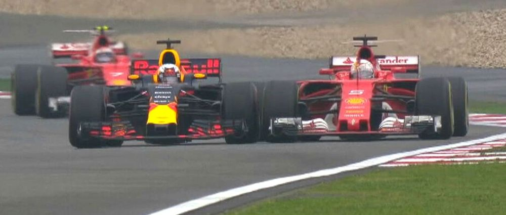 On This Day In F1 - Ricciardo Banged Wheels With Vettel Because He Was Bored
