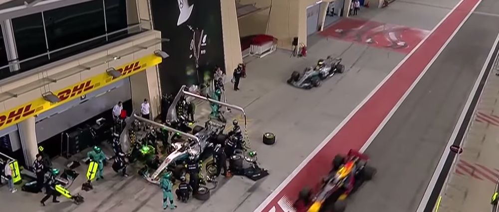 On This Day In F1 - A Mercedes Double-Stack Didn't Quite Go To Plan