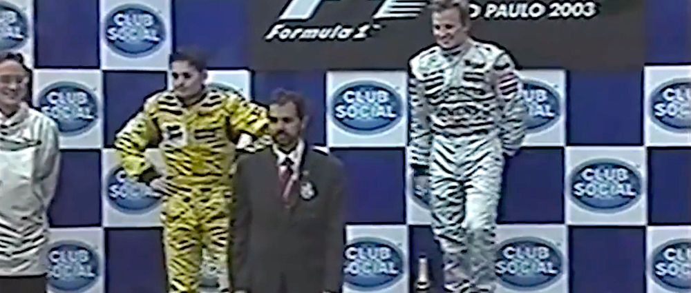 On This Day In F1 - Everyone Standing On The Podium Was In The Wrong Place