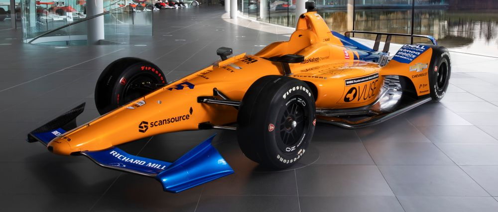 Here's The Livery Alonso Will Run At The Indy 500 This Year