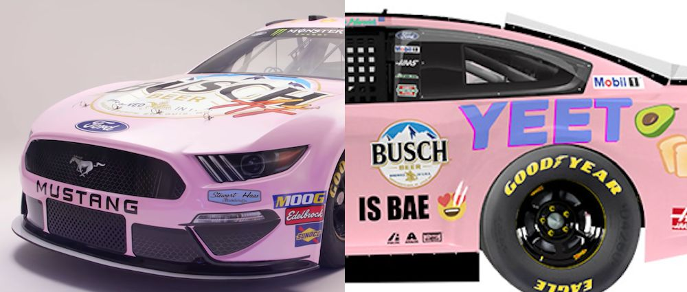 This 'Millennial-Inspired' Nascar Livery Is Maximum Cringe And We Absolutely Love It