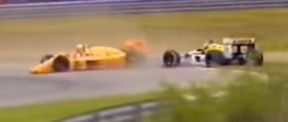 On This Day In F1 - Senna And Mansell Had A Bit Of A Fight