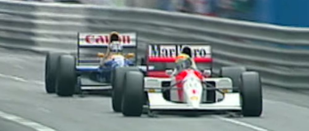 On This Day In F1 - Senna Held Off A Much Faster Mansell At Monaco