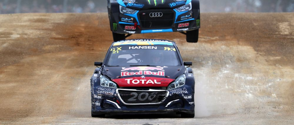 Timmy Hansen Used The Joker Lap To Stunning Effect To Win At Silverstone