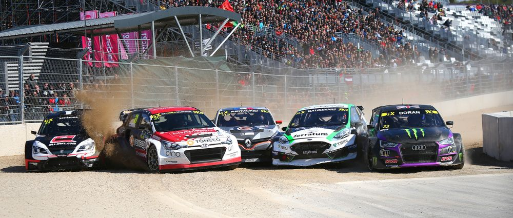 The Racing At Spa's New World RX Track Was Absolutely Incredible