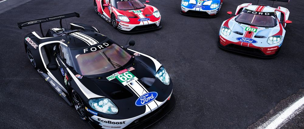 Ford Will Run These Awesome 1960s Tribute Liveries At Le Mans This Year