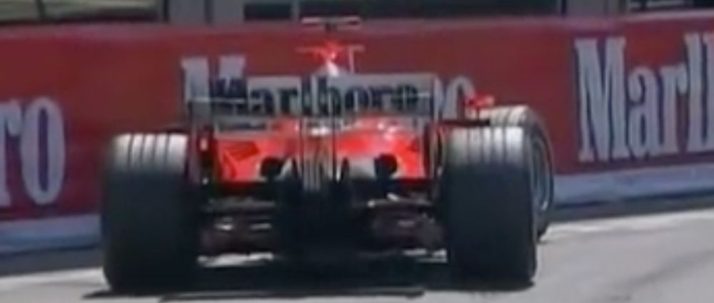 On This Day In F1 - Schumacher Parked His Ferrari At Rascasse