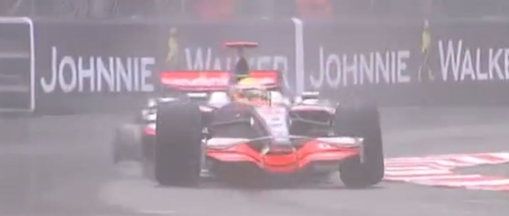 On This Day In F1 - Hamilton Won At Monaco Because He Hit The Wall