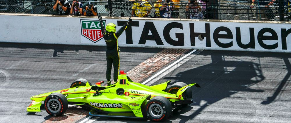 Pagenaud Wins His First Indy 500 After An Epic Duel With Rossi