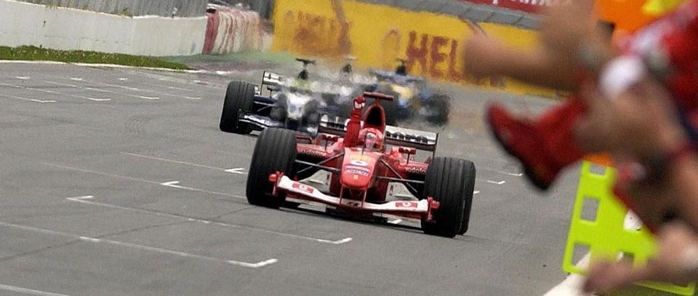 On This Day In F1 - A Struggling Schumacher Saw Off Both Williams Drivers