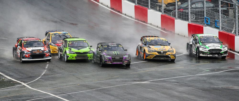 Heavy Rain Made The World RX Round In Hell Utterly Manic