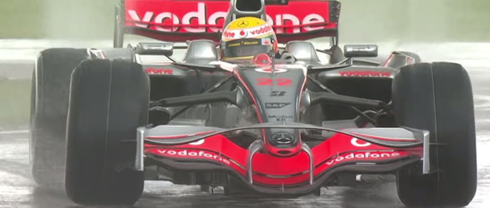 On This Day In F1 - Hamilton Won His Home Race By More Than A Minute In The Rain