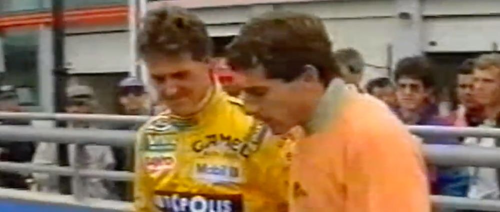 On This Day In F1 - Senna Had A Few Choice Words For Schumacher