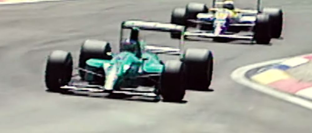 On This Day In F1 - The Leyton House Team Almost Won A Grand Prix