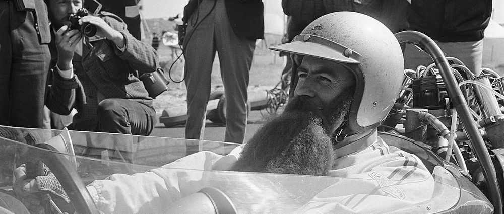 On This Day In F1 - Jack Brabham Wore A Fake Beard