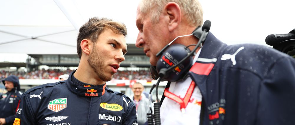 Red Bull Says Gasly Will Not Be Replaced Mid-Season