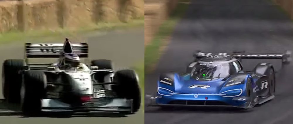 Nick Heidfeld's 20-Year-Old Goodwood Record Has Been Broken By The VW I.D. R