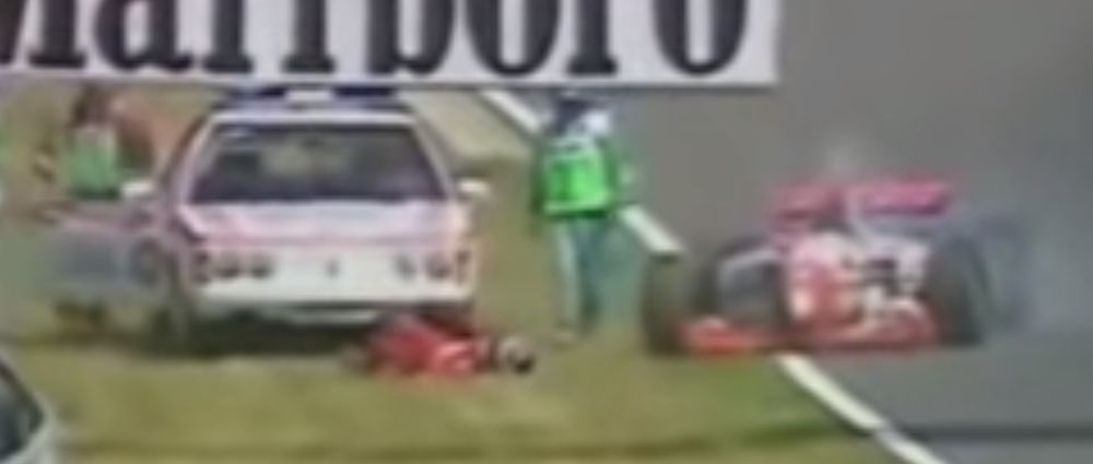 On This Day In F1 - Taki Inoue Was Run Over By A Course Car