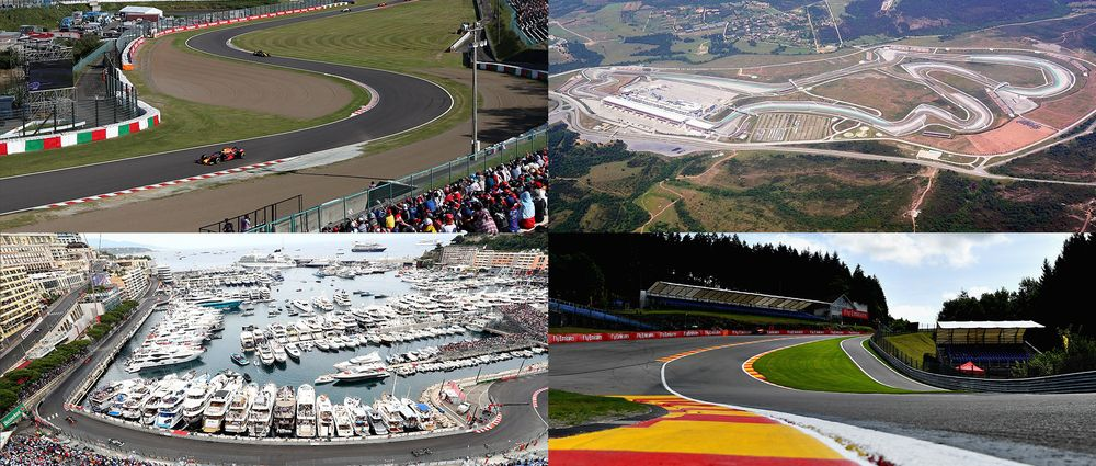 Quiz: Which Circuits Have Been On The F1 Calendar For The Most Consecutive Years?