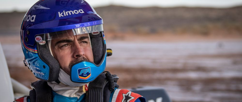 Fernando Alonso Is Ramping Up Preparations For An Assault On The Dakar Rally