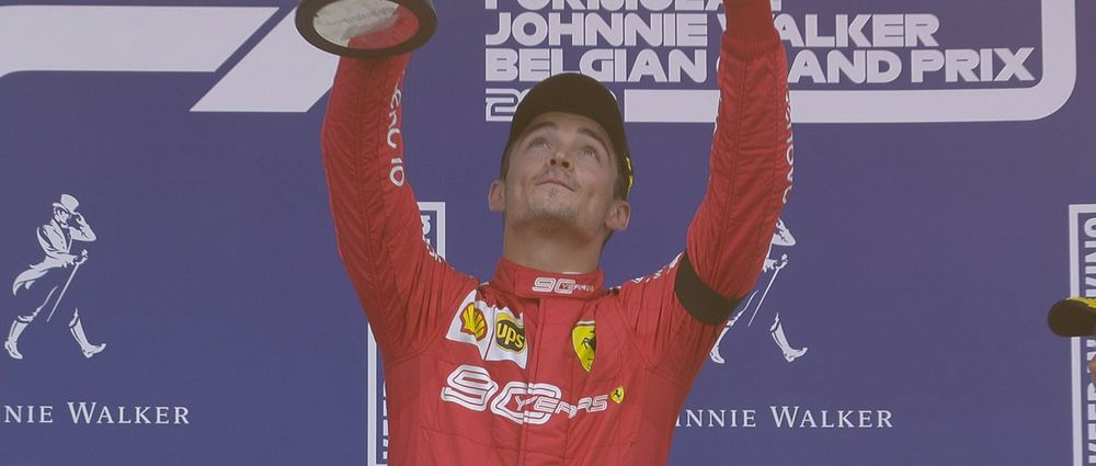 Charles Leclerc Claims Emotional Maiden F1 Win at Spa