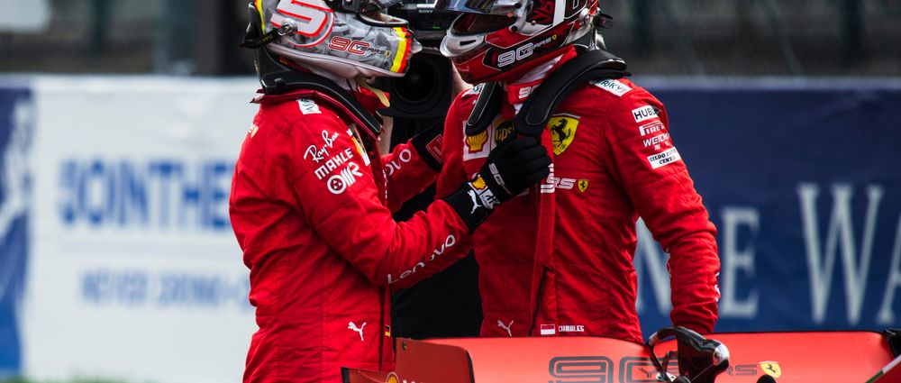 Vettel Is Content With His Role In Leclerc's Victory Over Hamilton