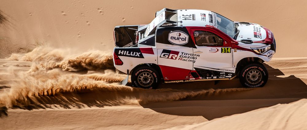 Alonso's First Major Rally Raid Event Hasn't Been Going Too Well