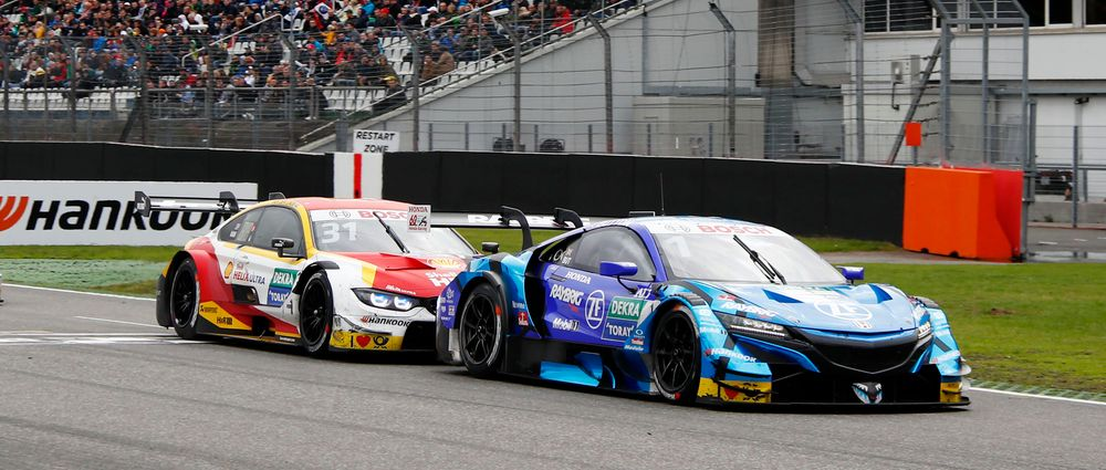 Super GT Cars Racing In DTM Was Every Kind Of Awesome