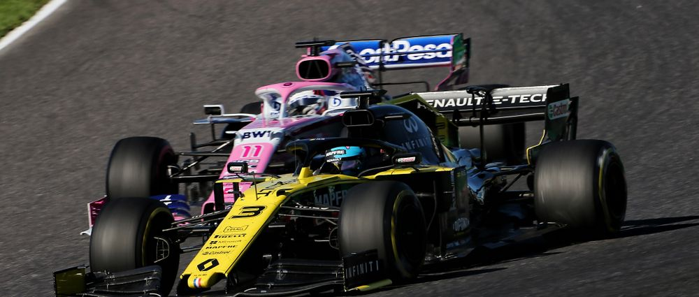 Renault Has Been Disqualified From The Japanese Grand Prix