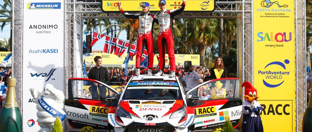 Somebody Not Called Sebastien Won The WRC Title For The First Time In 16 Years