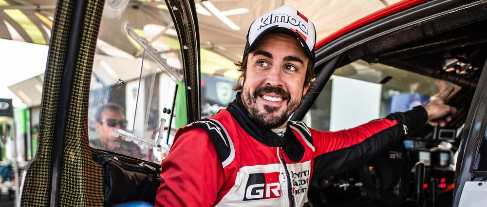 Fernando Alonso Just Scored His First Rallying Podium