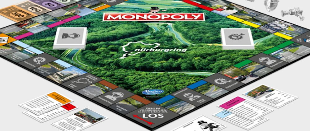 You Can Now Buy A Nordschleife-Themed Version Of Monopoly