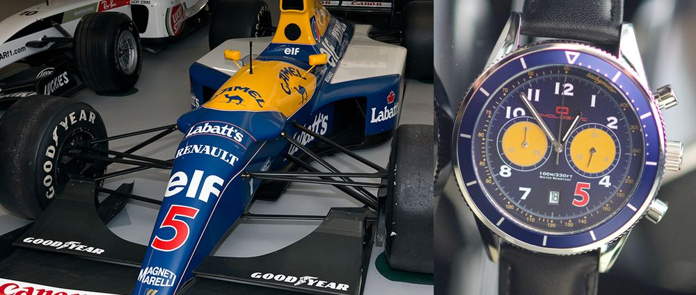 This Watch Is Inspired By Nigel Mansell's Championship-Winning Williams
