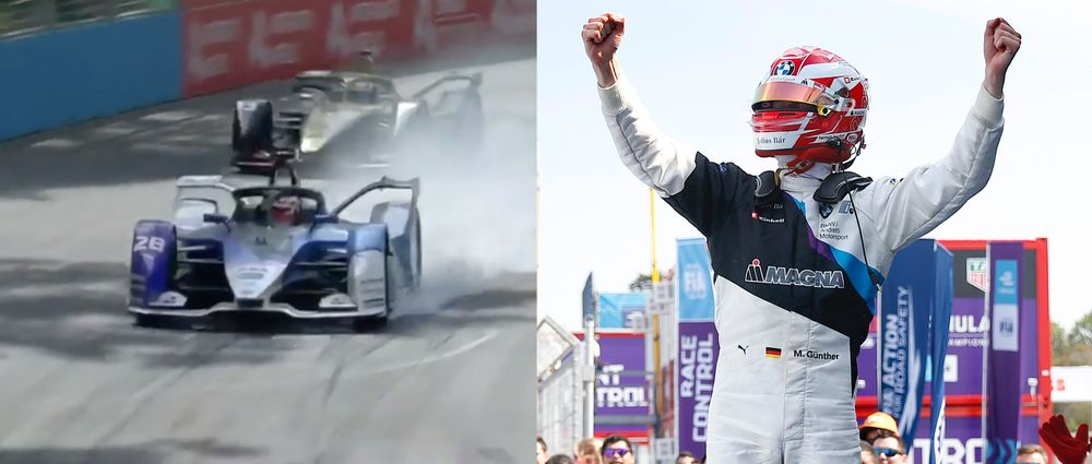 Max Gunther Won His First Formula E Race After An Epic Scrap For The Lead