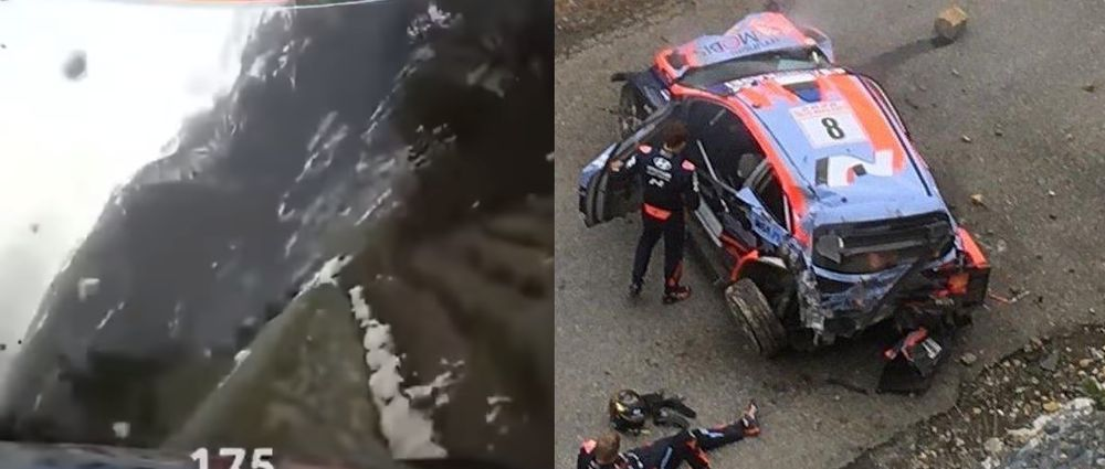 Everyone OK After This Absolutely Colossal WRC Accident