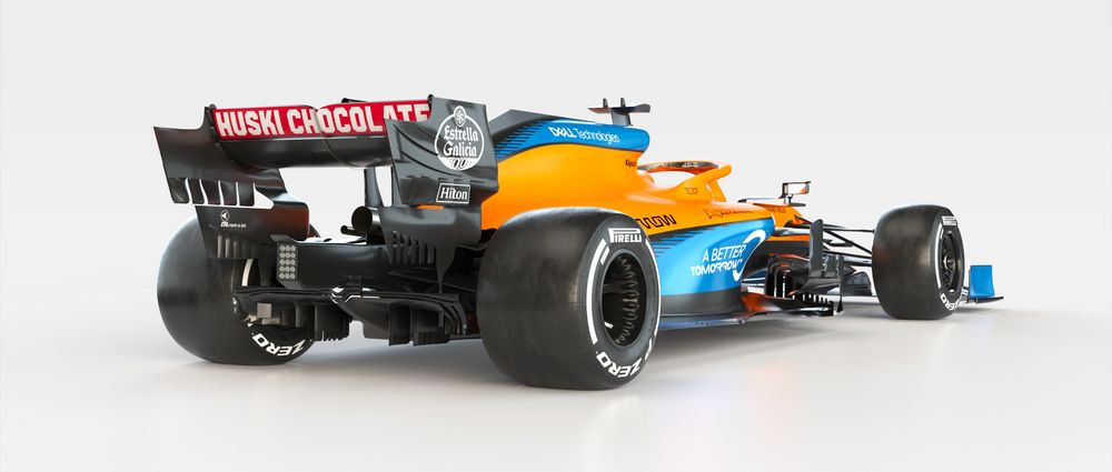 The New McLaren MCL35 Has Tiny Sidepods And A Matte Livery