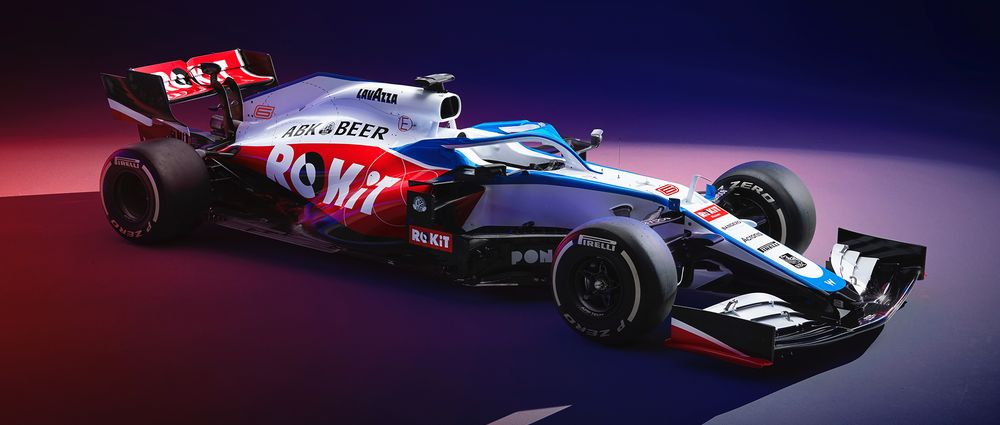 The New Williams Is Here With A Livery That's Way Better Than Last Year