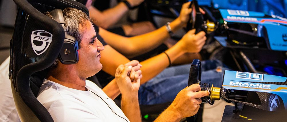 Juan Pablo Montoya Won A Sim Racing Competition In Miami