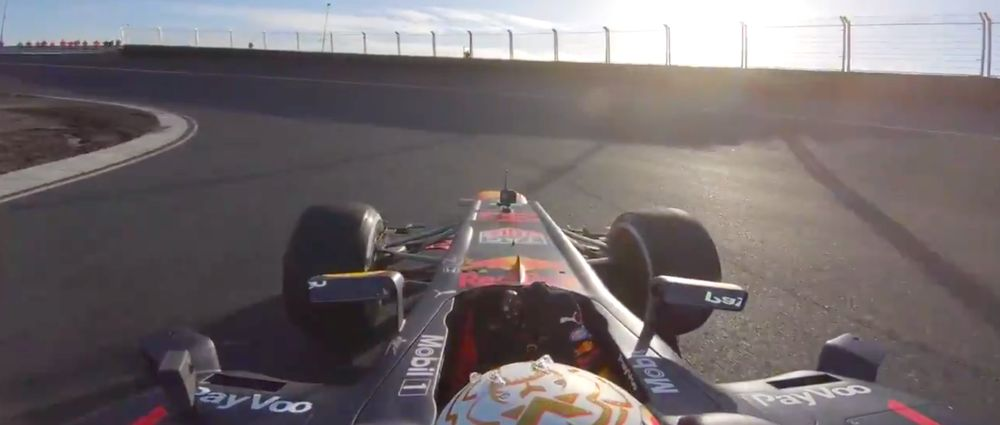 Take A Ride With Verstappen Around The Banked Turns Of Zandvoort